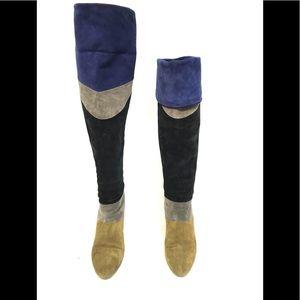 Loeffler Randall Suede Boots